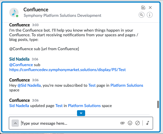 6 Confluence Notification
