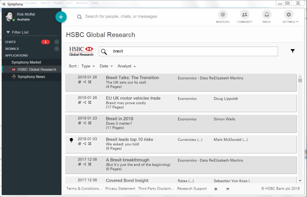 Hsbc Global Research App